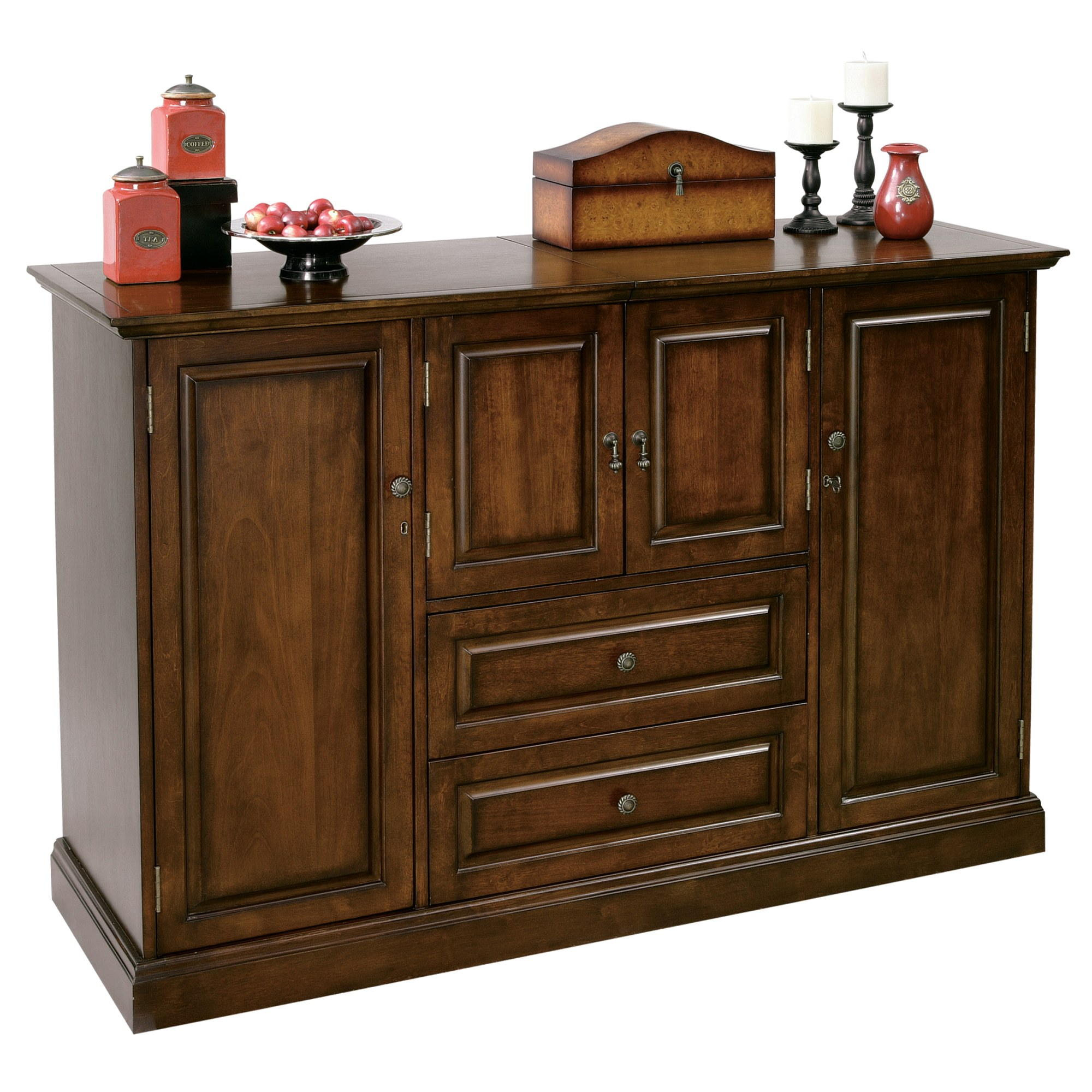 Image for 695-081 Bar Devino II Wine & Bar Console from Howard Miller Official Website