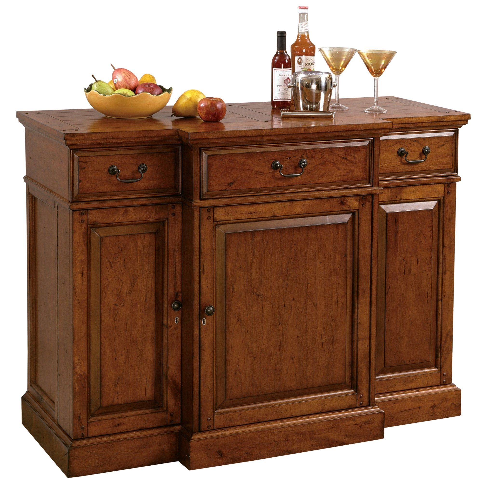 Image for 695-084 Shiraz Wine & Bar Console from Howard Miller Official Website