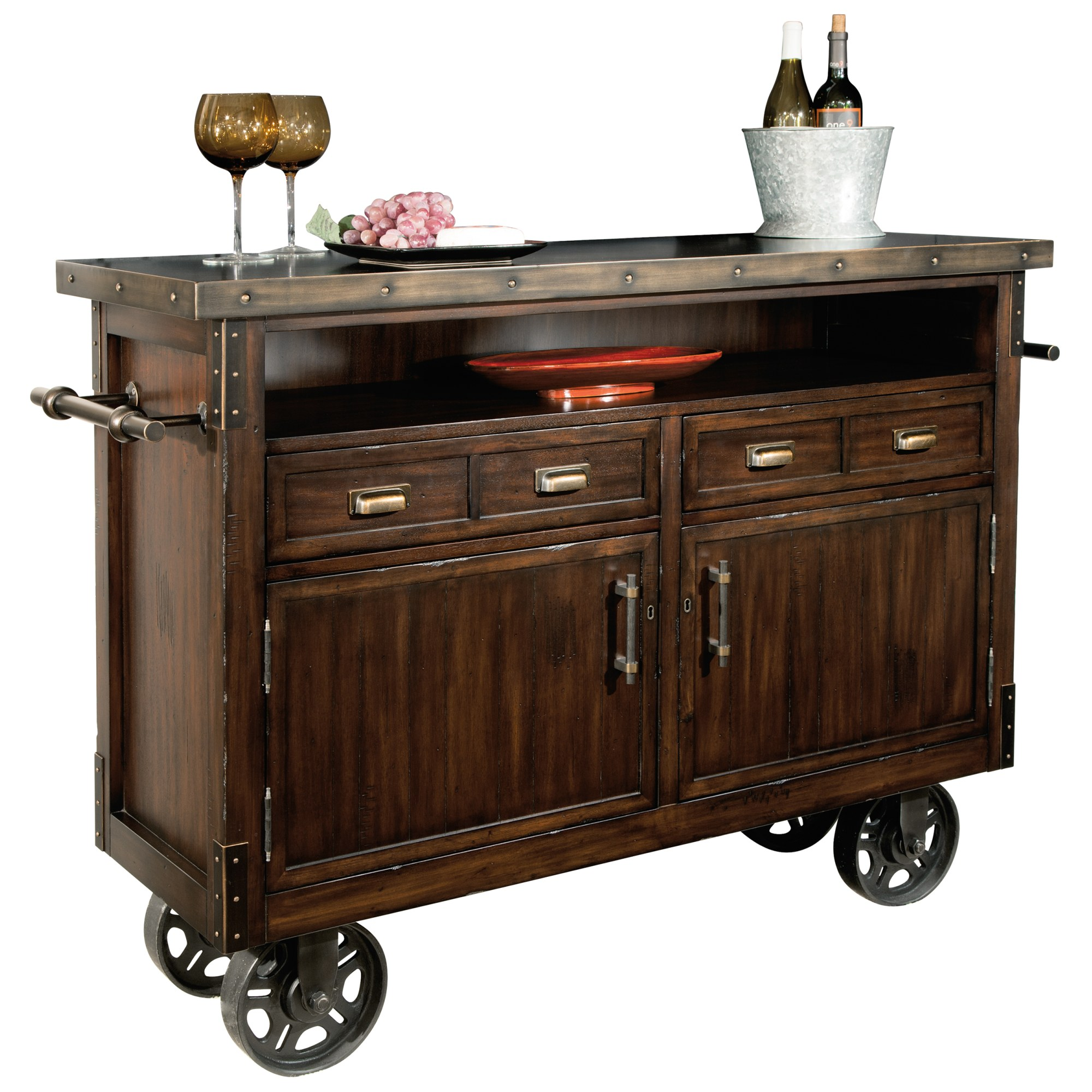 Image for 695-146 Barrows Wine & Bar Console from Howard Miller Official Website
