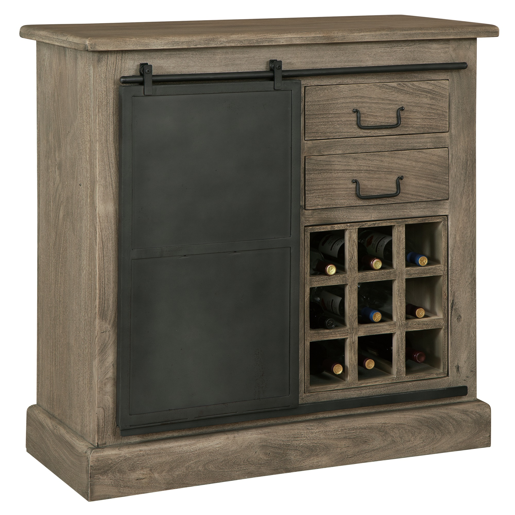 Image for 695-214 Shooter Wine & Bar Console from Howard Miller Official Website