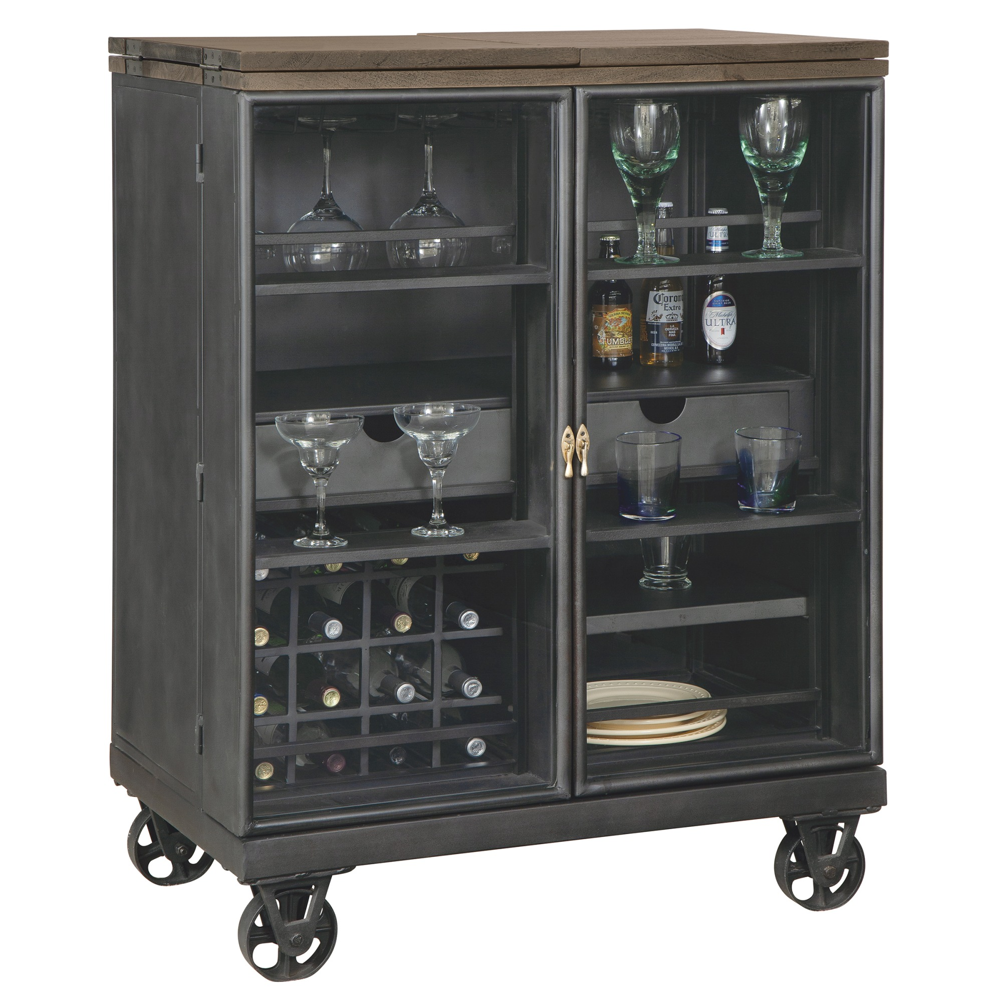 Image for 695-216 Al Fresco Wine & Bar Console from Howard Miller Official Website