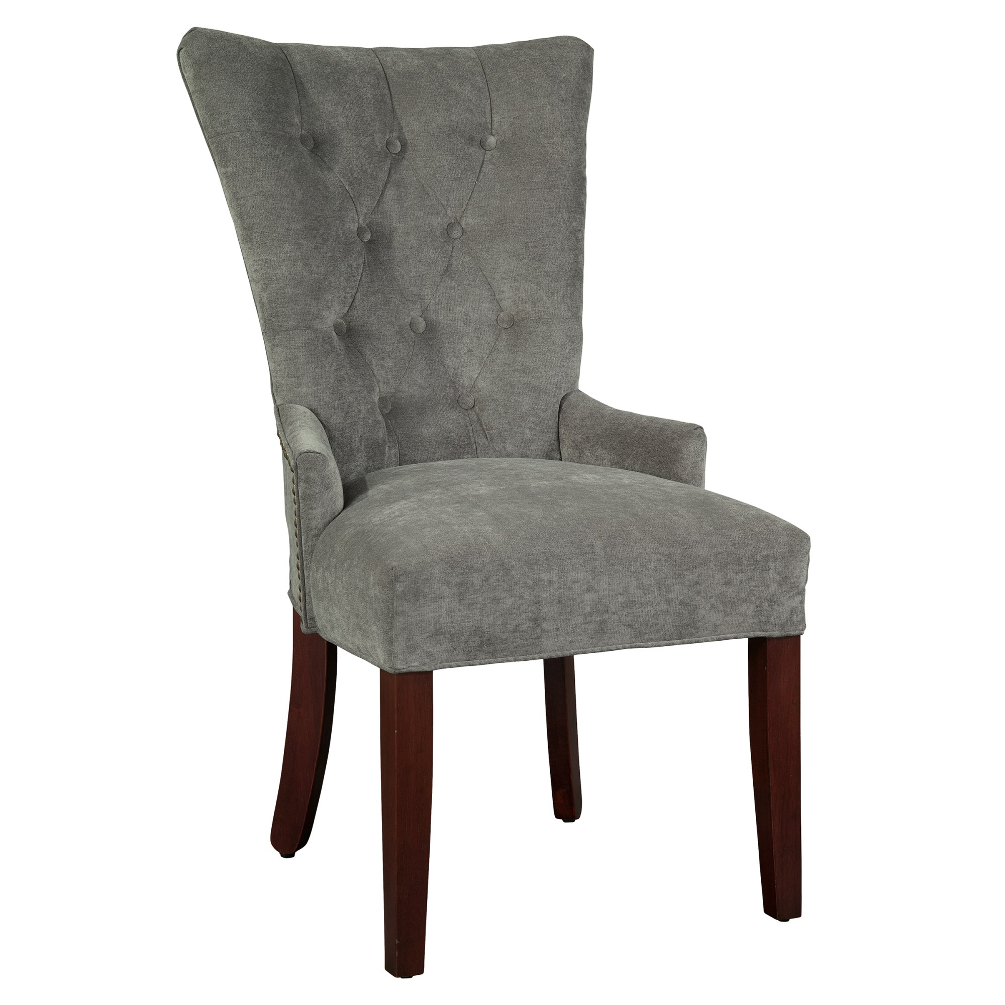 Image for 7256 Sandra Dining Chair with Nailheads from Hekman Official Website