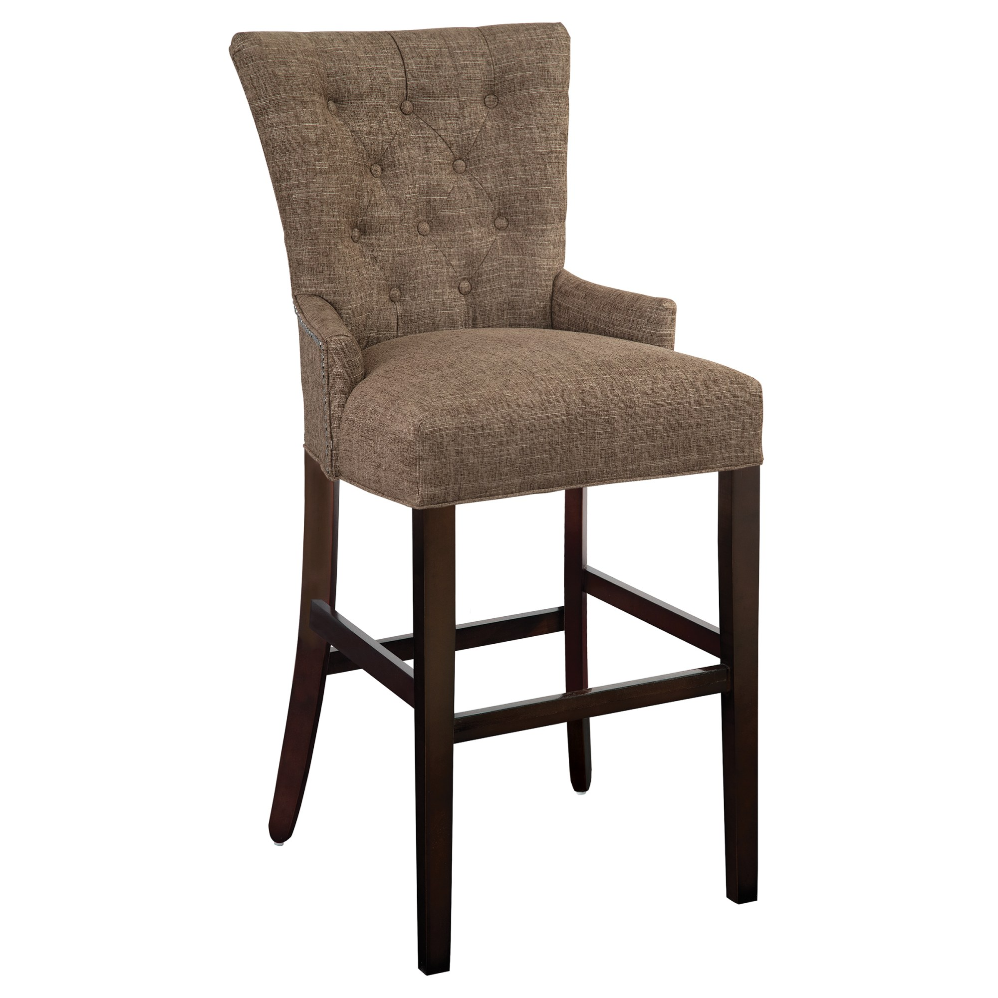 Image for 7401 Sonya Bar Stool with Nailheads from Hekman Official Website