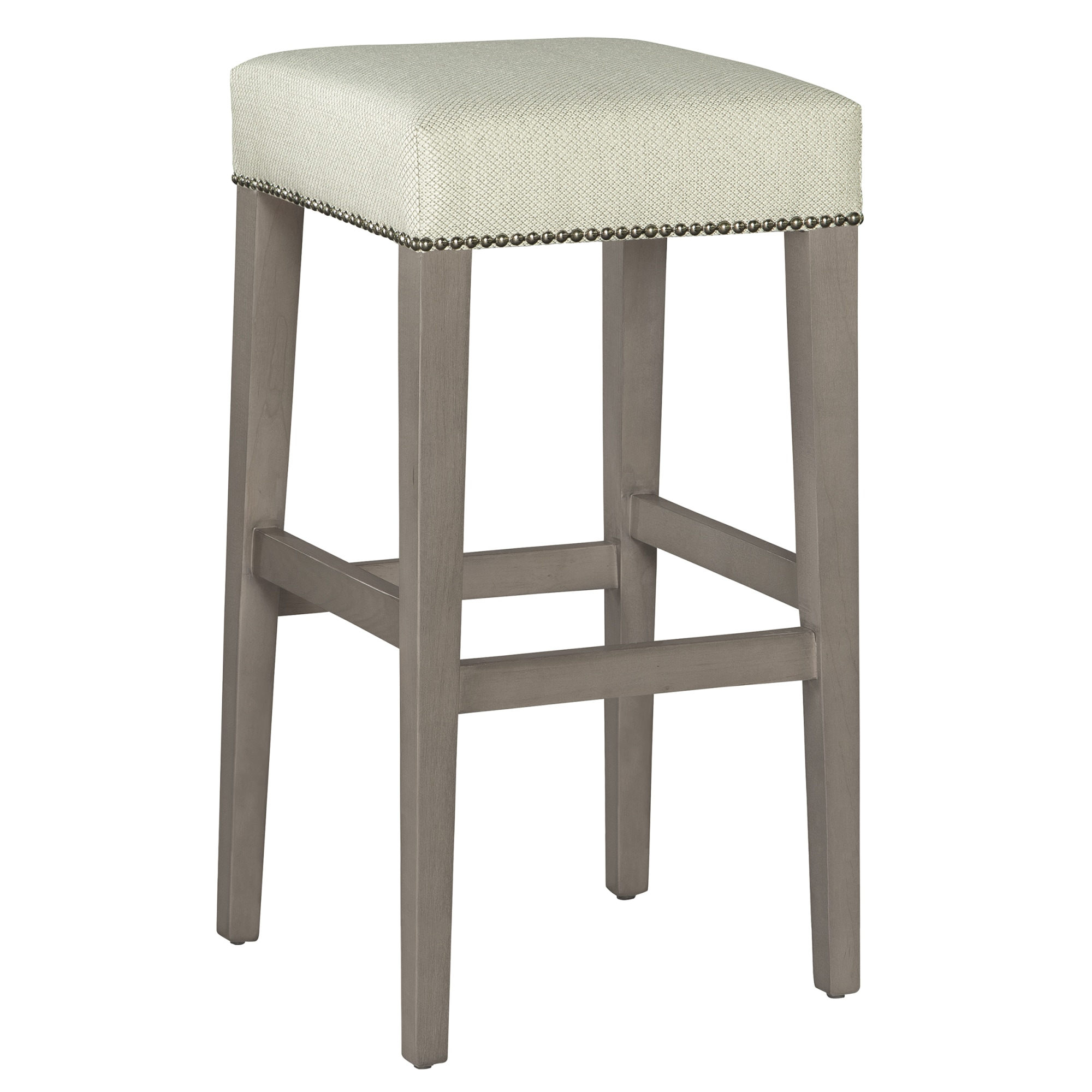Image for 7435 Jaxon Bar Stool with Nailheads from Hekman Official Website