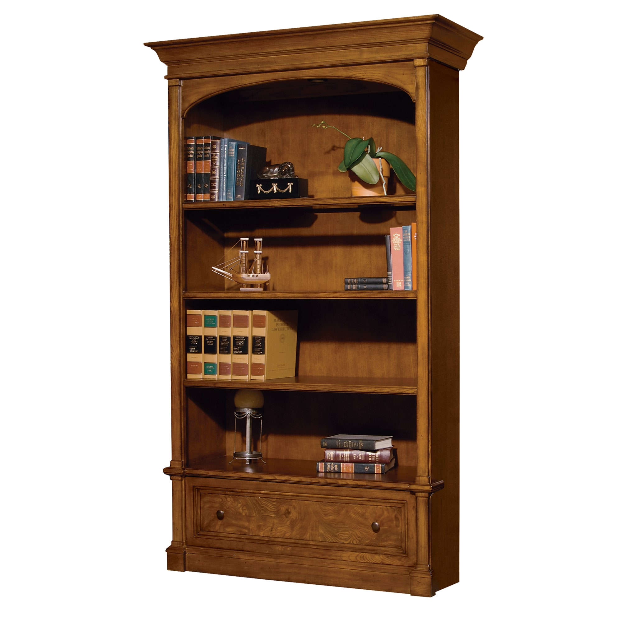 Image for 7-9104 office@home Urban Ash Bookcase from Hekman Official Website