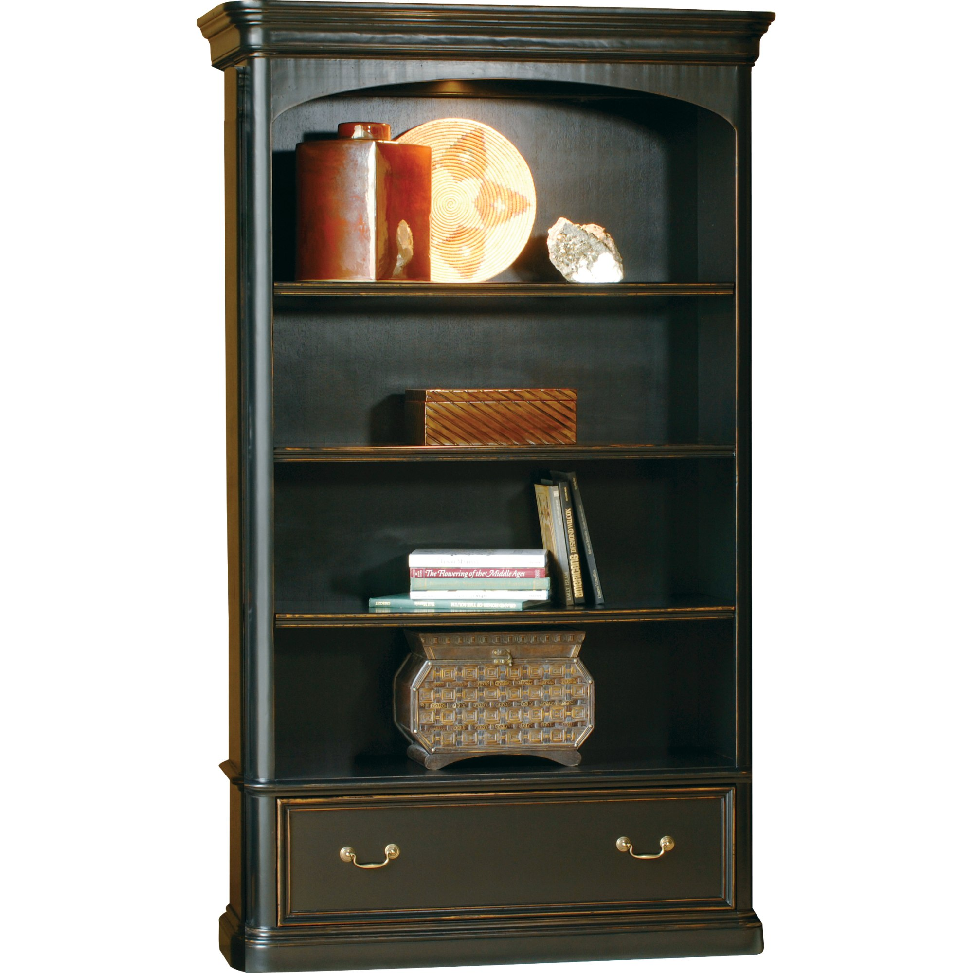 Image for 7-9144 office@home Louis Philippe Bookcase from Hekman Official Website