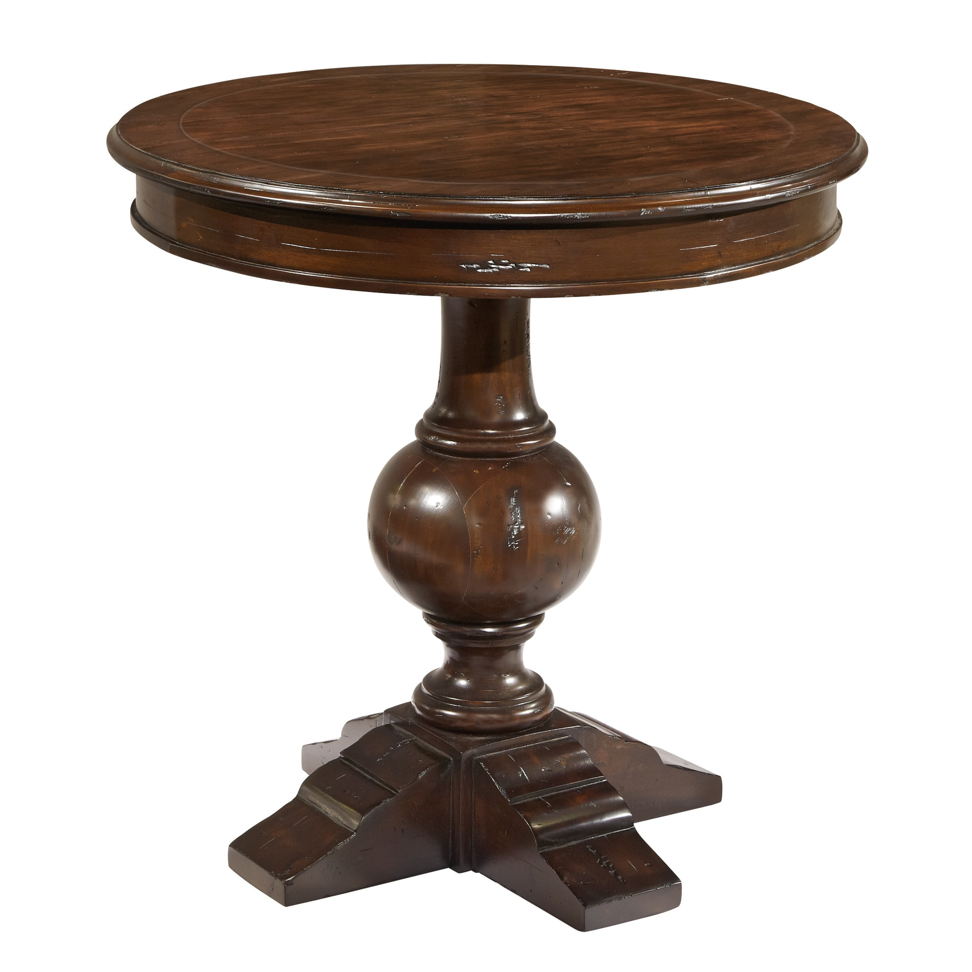 Image for 943706CP Charleston Place Round Lamp Table from Hekman Official Website