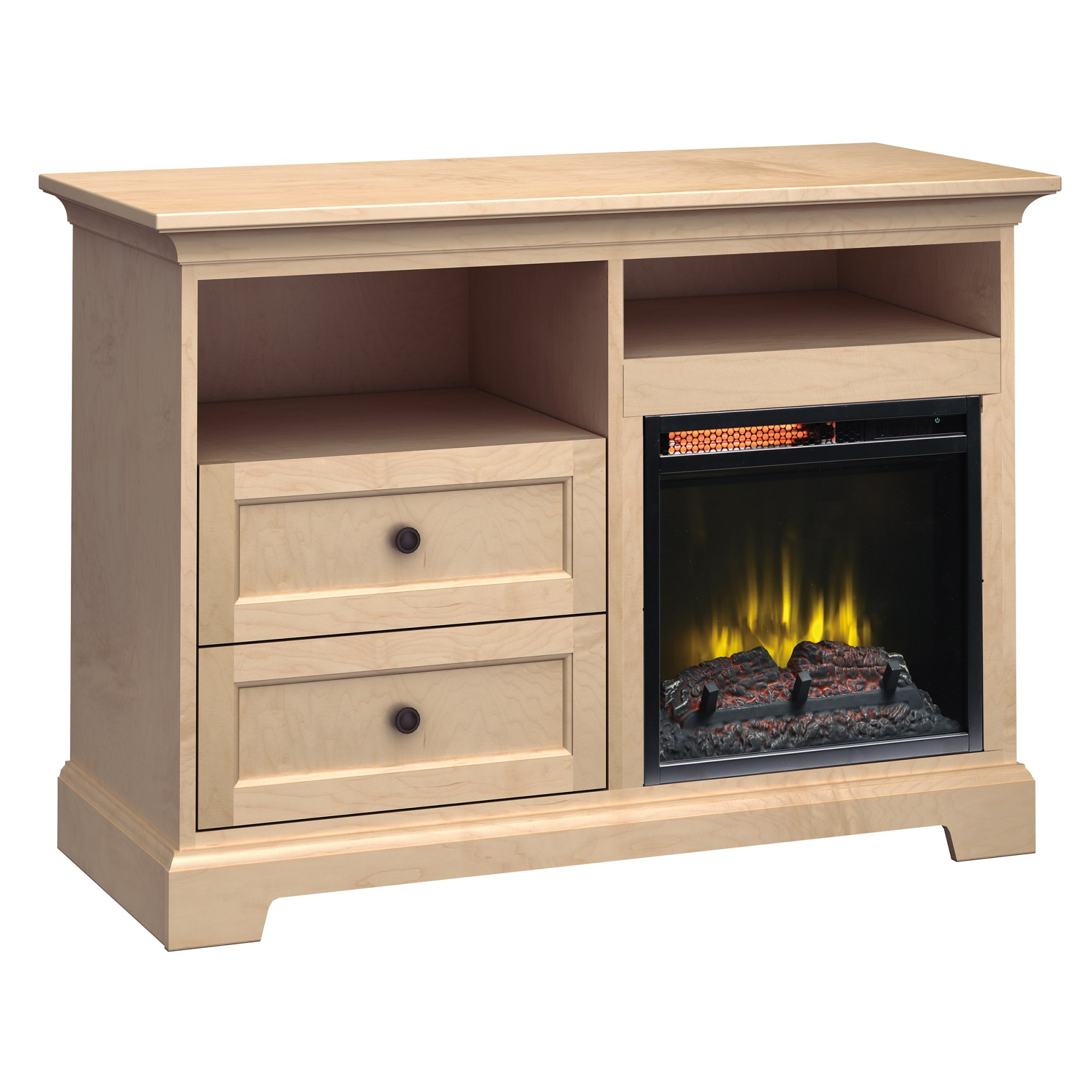 Image for FP46D Fireplace Custom TV Console from Howard Miller Official Website