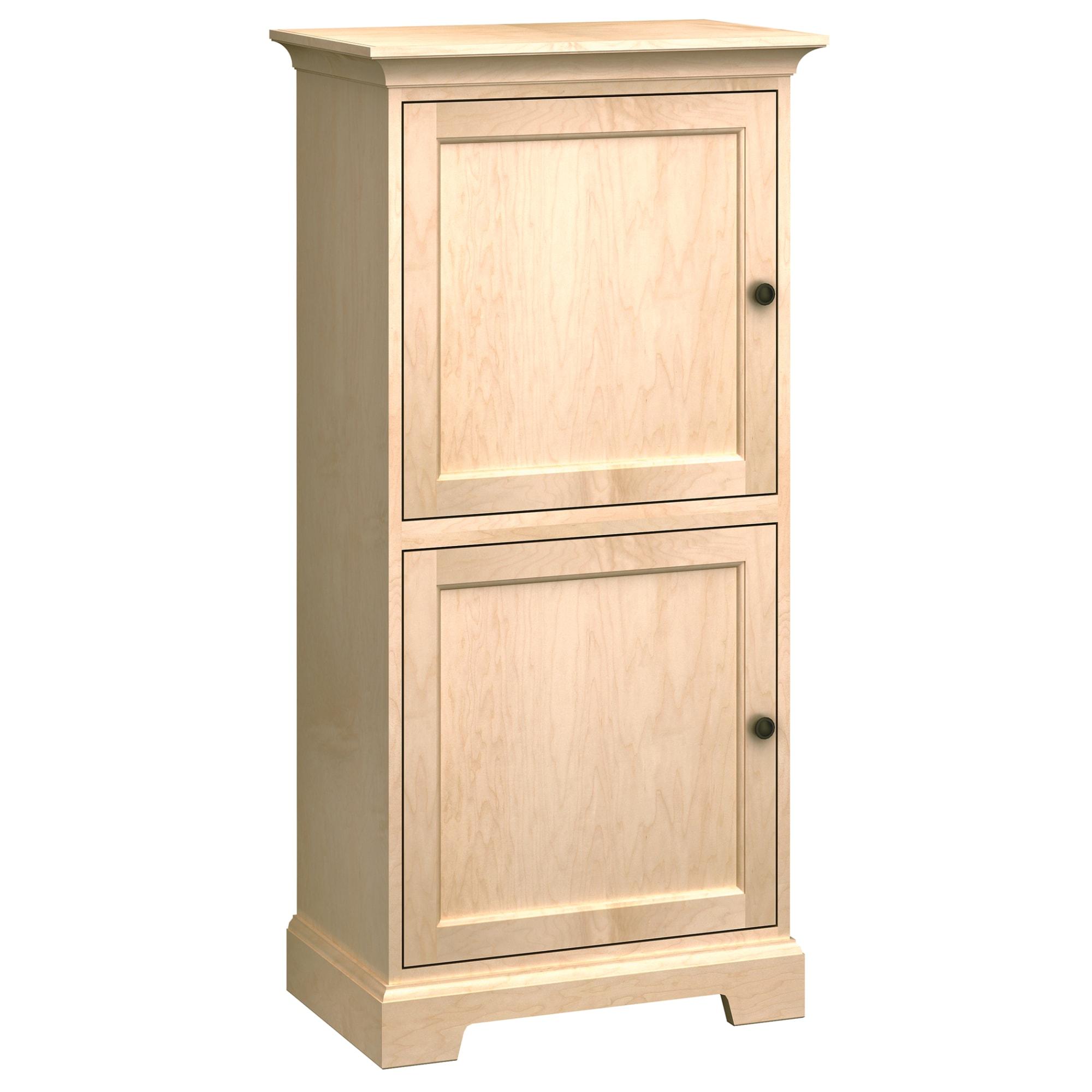 Image for HS27G Custom Home Storage Cabinet from Howard Miller Official Website