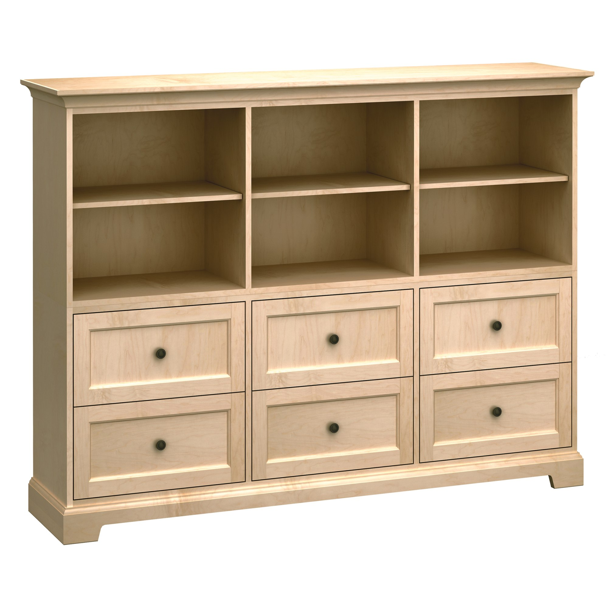 Image for HS73D Custom Home Storage Cabinet from Howard Miller Official Website