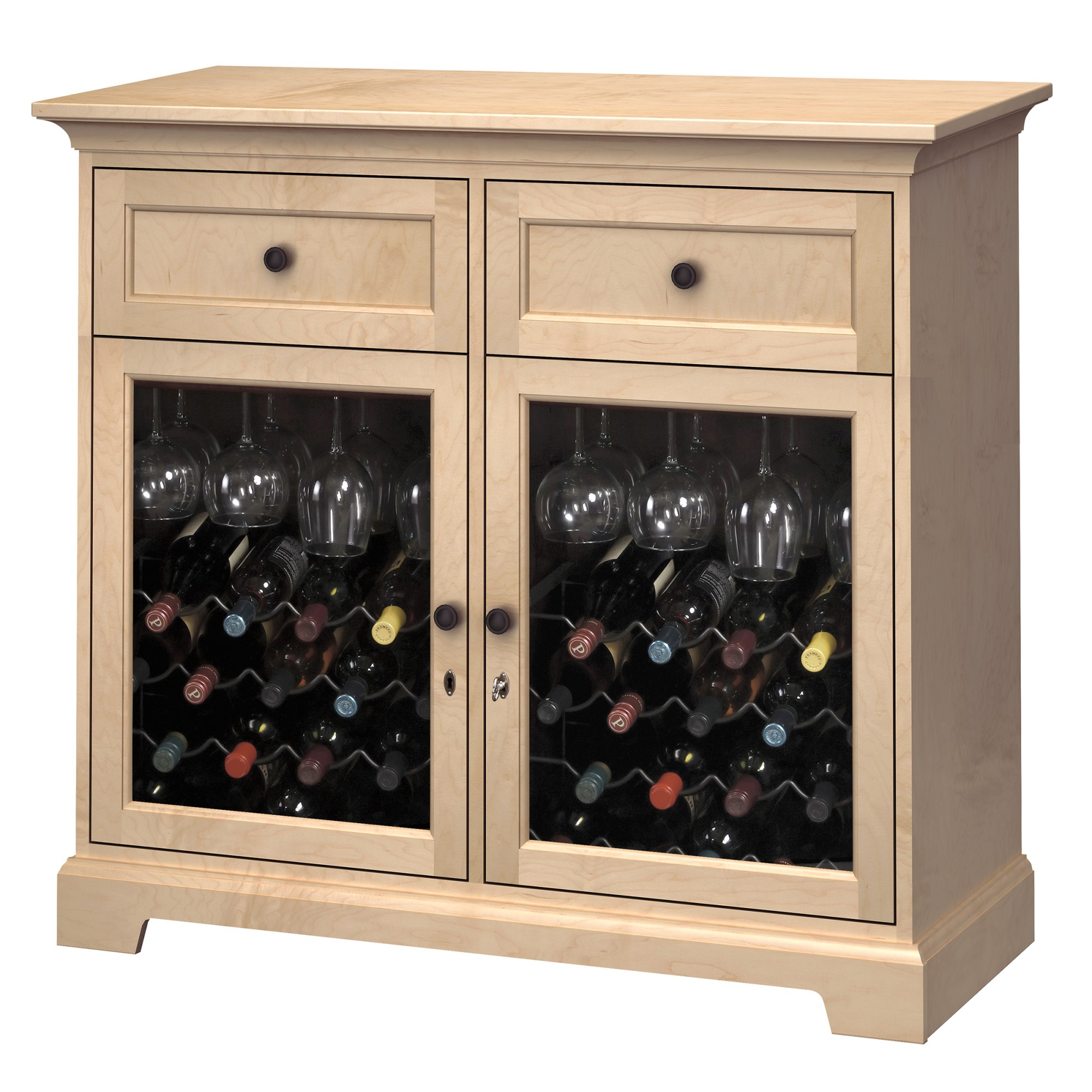 Image for WS46F Wine & Bar Custom Console from Howard Miller Official Website