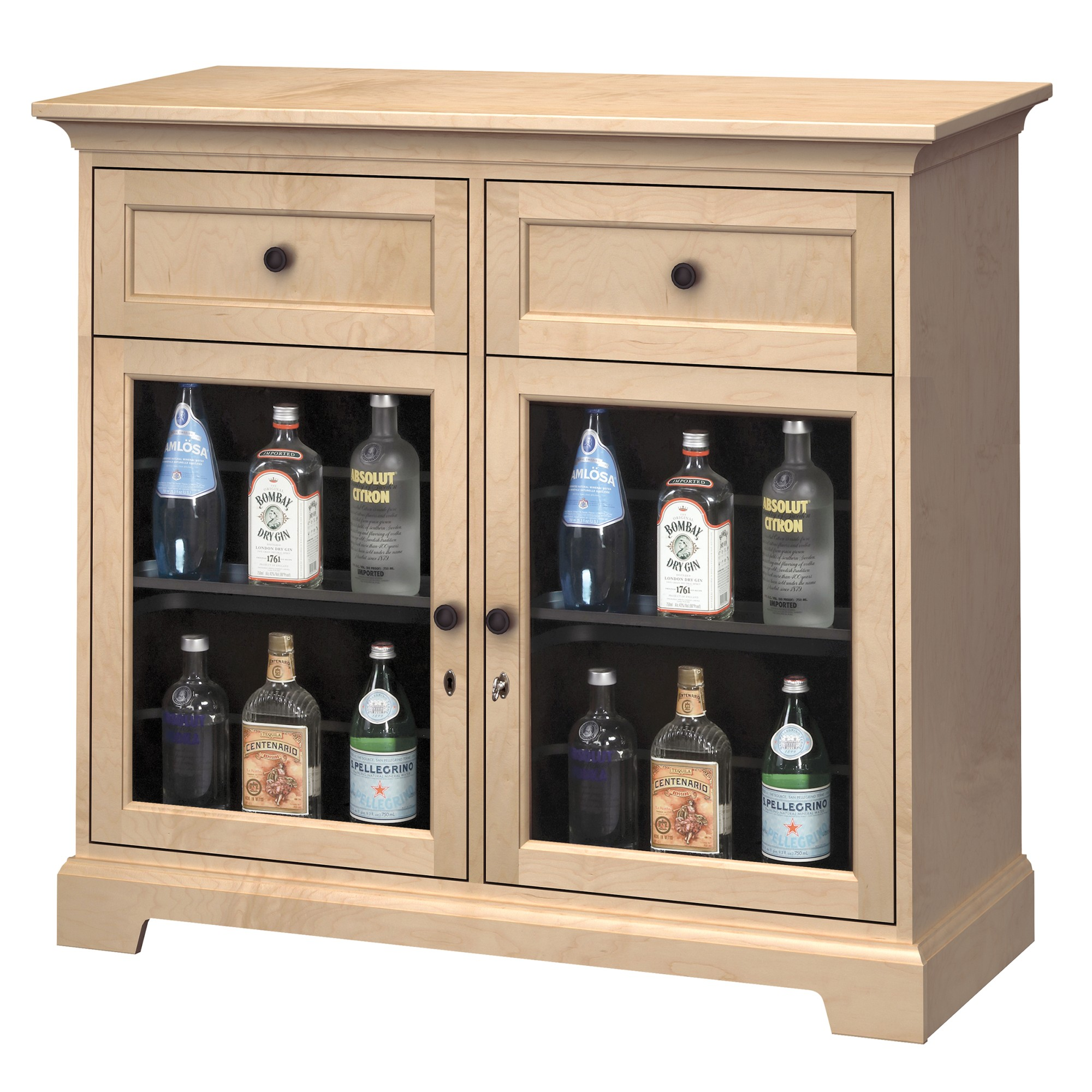 Image for WS46G Wine & Bar Custom Console from Howard Miller Official Website