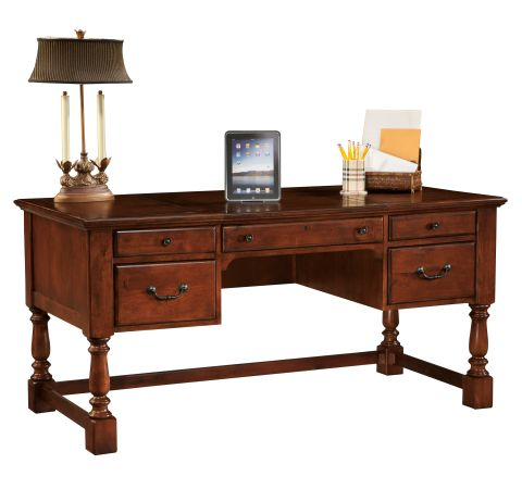 Product 7 9278 Office At Home Weathered Cherry Desk