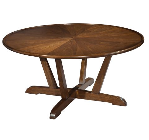 Product 951302mw Mid Century Modern Round Coffee Table