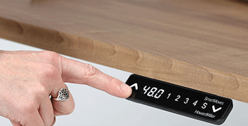 SmartMoves Keypad for Adjustable Height Desk
