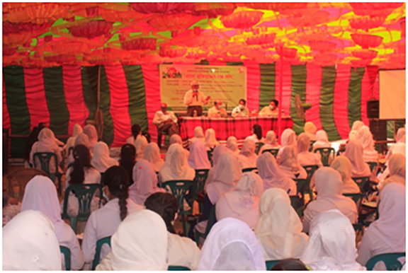 জেলা তথ্য অফিসের আয়োজনে পাটগ্রামে'এসো মুক্তিযুদ্ধের গল্প শুনি' অনুষ্ঠিত
