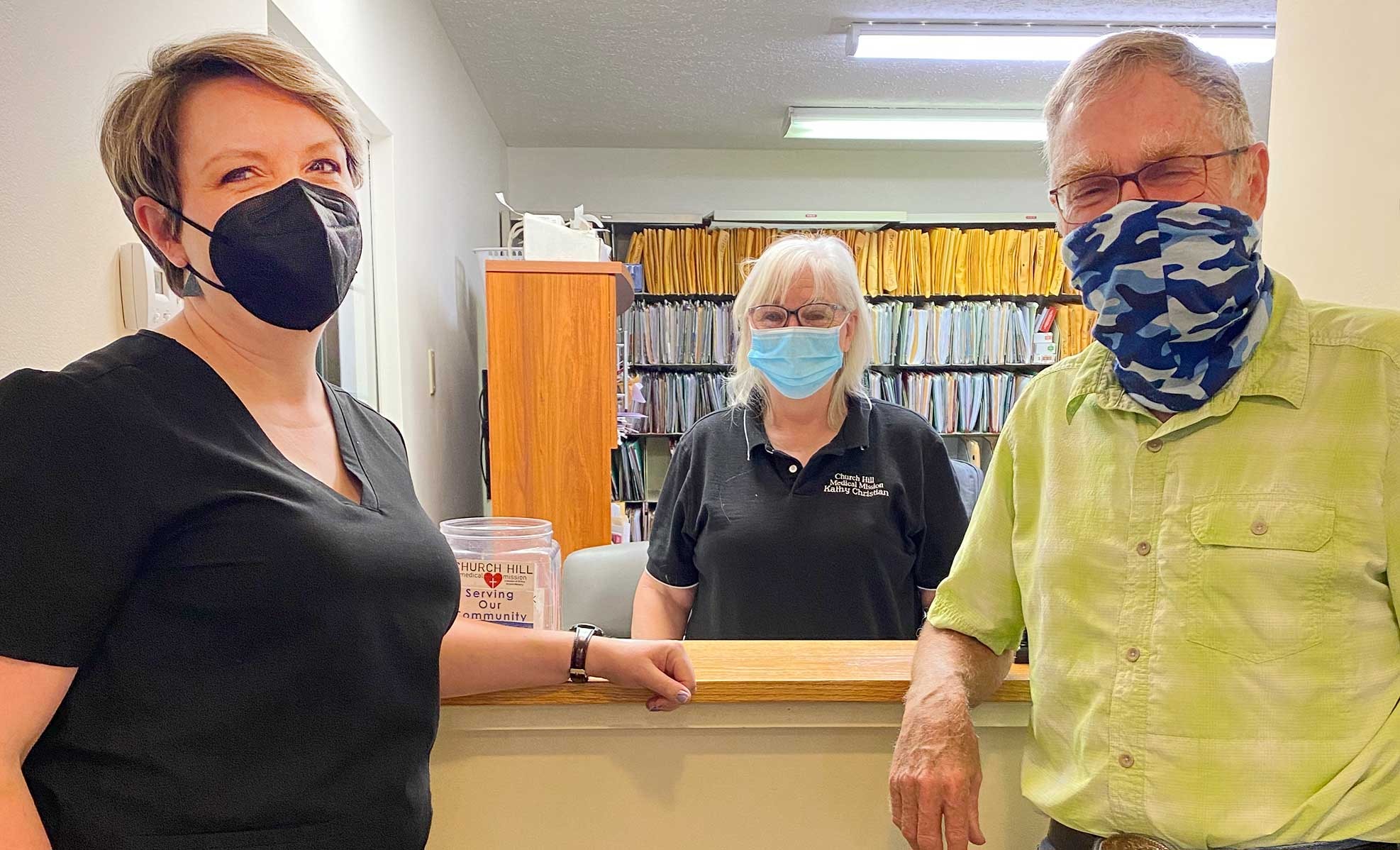 Dr. Dove and team