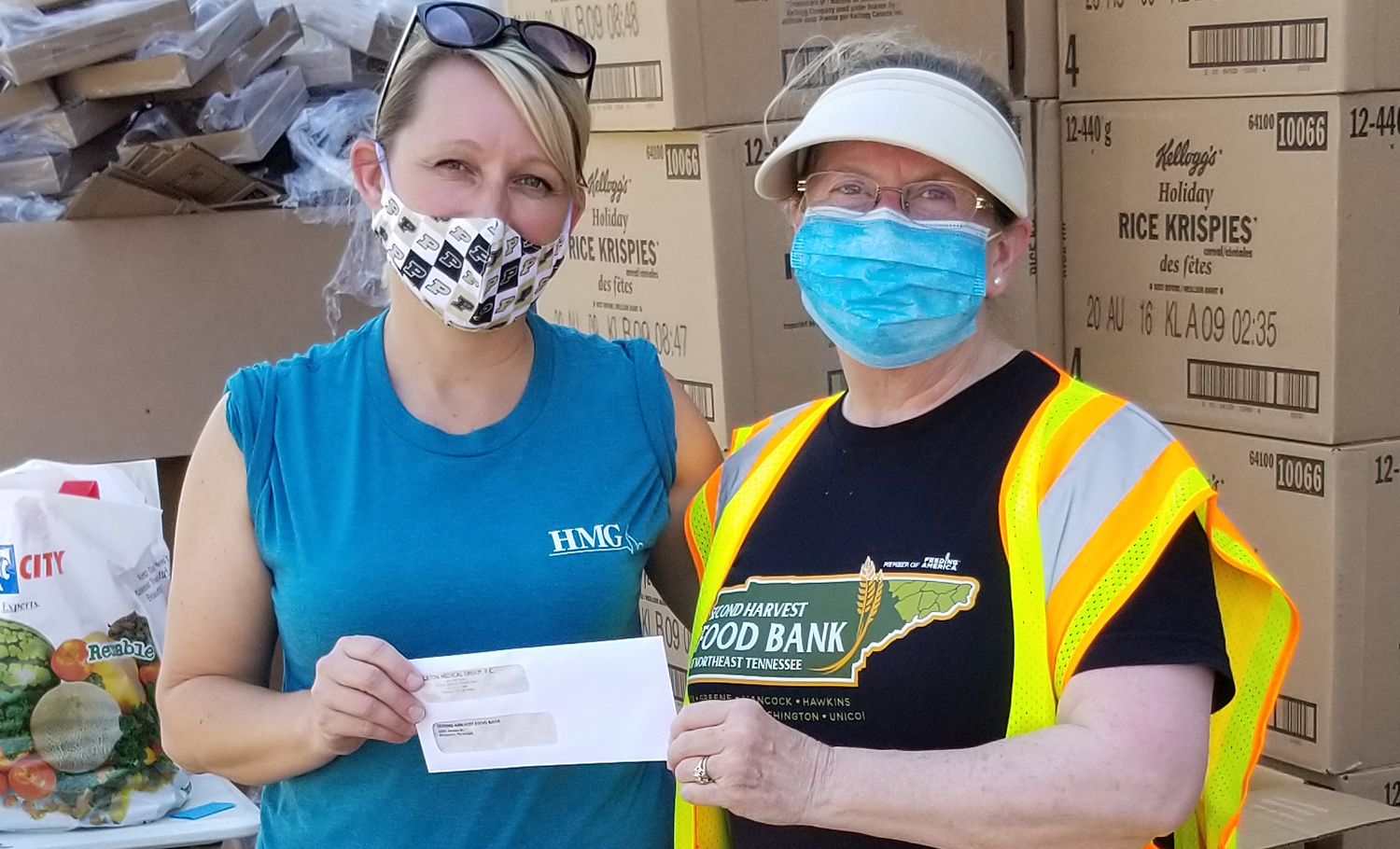 HMG & Second Harvest Food Bank of Northeast Tennessee
