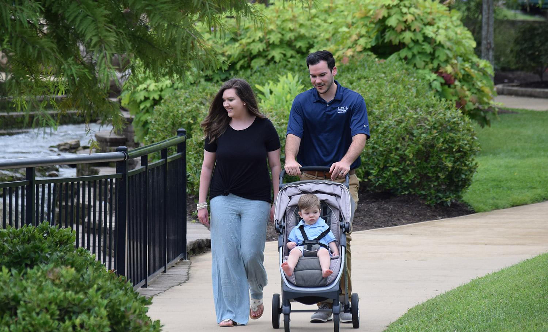 Dr. Metzger & family