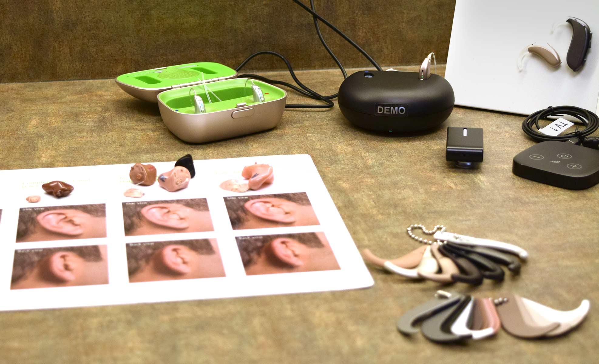 Hearing aid customization kit