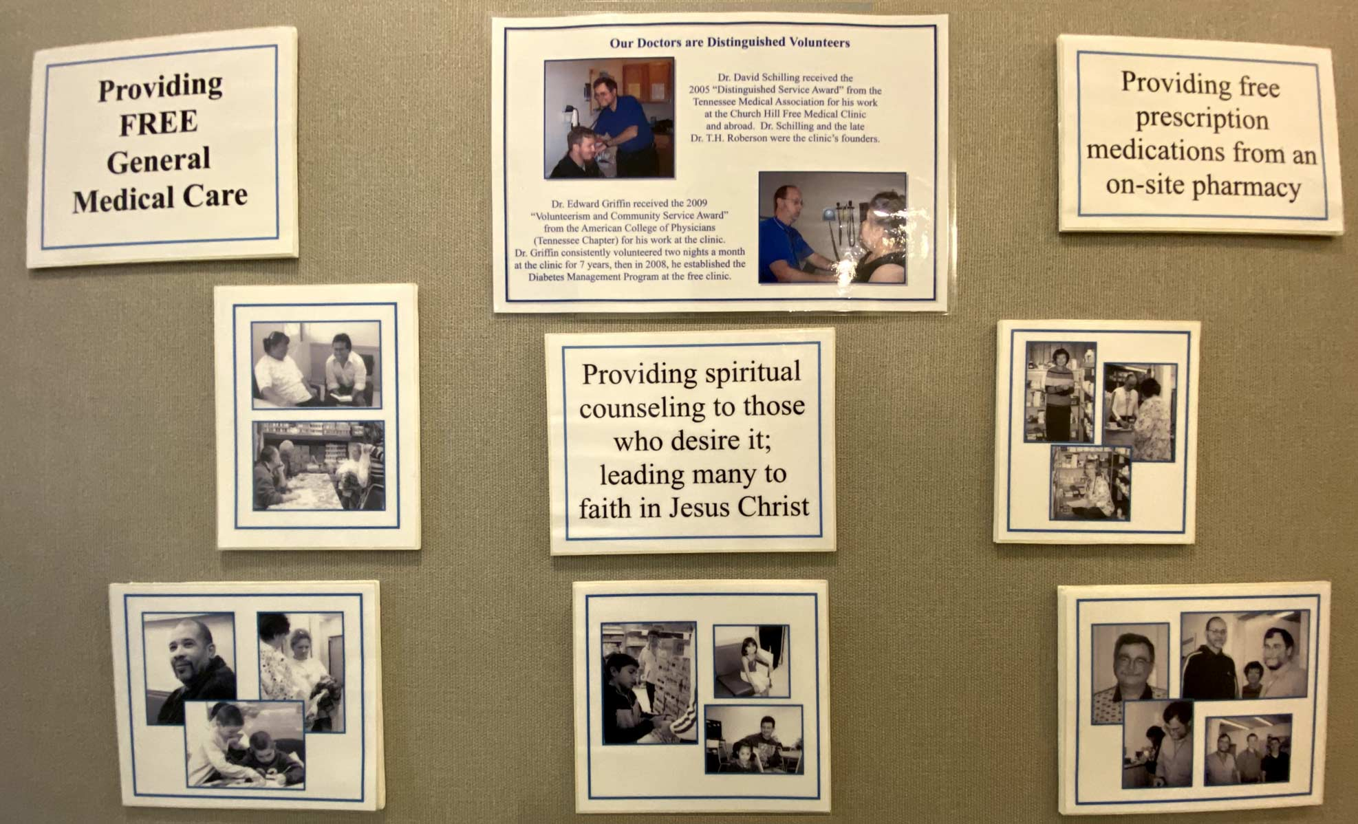 Church Hill Medical Mission history