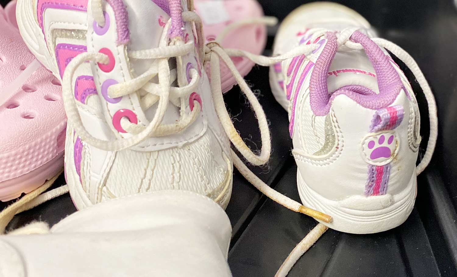 girl's baby shoes