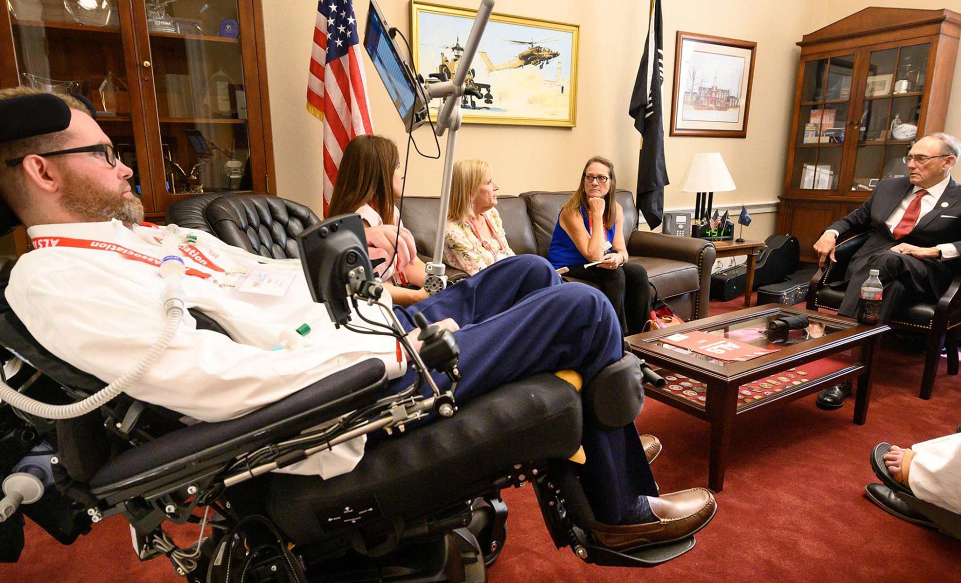 ALS advocacy with Phil Roe