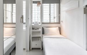 rooms and apartments for rent in singapore, hmlet pocket room interior view