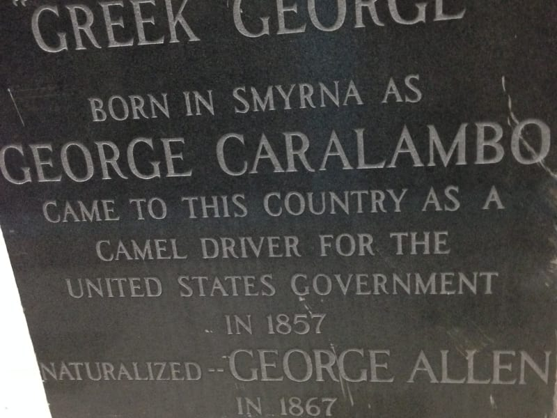 NO. 646 GRAVE OF GEORGE CARALAMBO - Tombstone