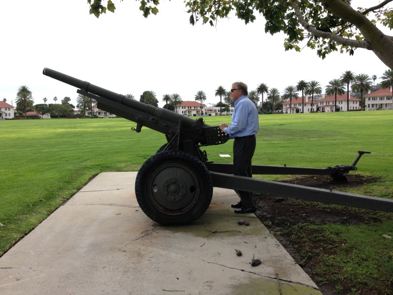 NO. 920 CASA DE SAN PEDRO - Ft. MacArthur Howitzer