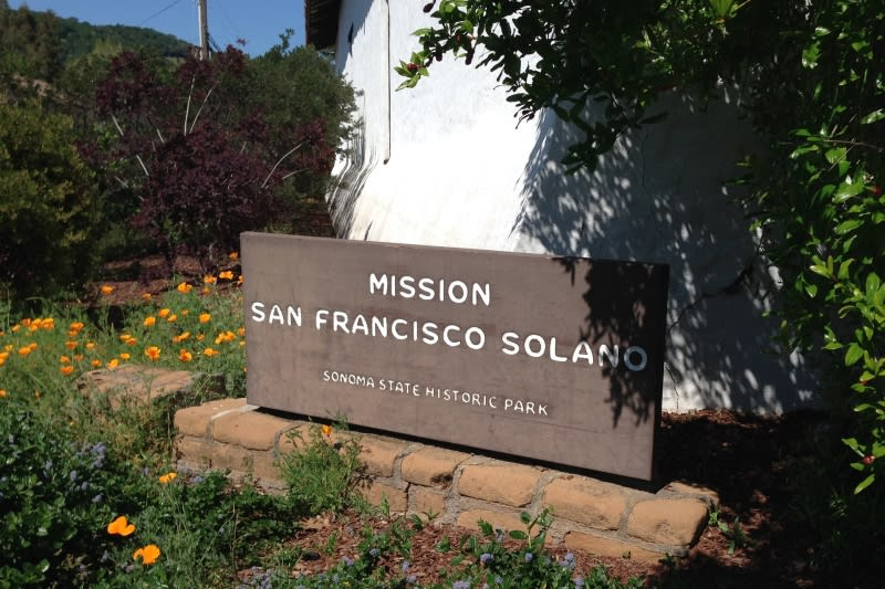 CHL #3 Mission San Francisco Solano- Sign