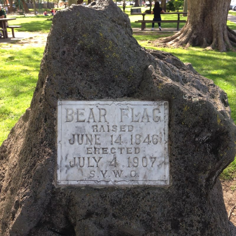 CHL #7 Bear Flag Monument Private Plaque