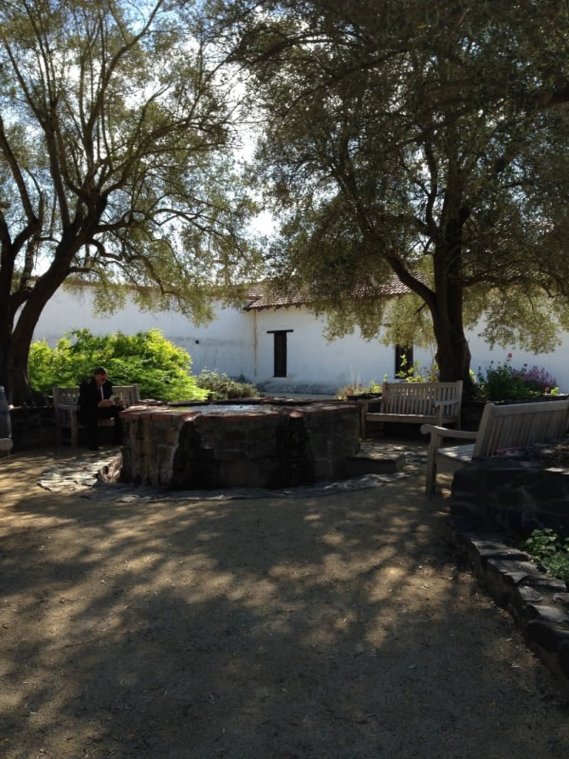 CHL #3 Mission San Francisco Solano Courtyard