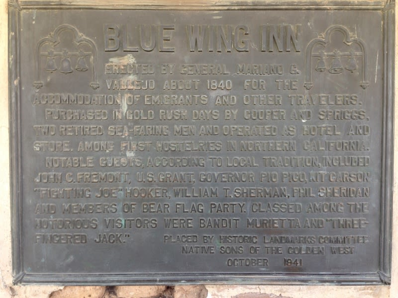 CHL #17  Blue Wing Inn Private Plaque