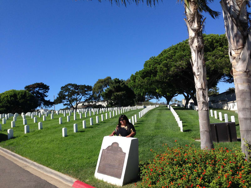 CHL #55 Fort Rosecrans National Cemetery - Marker