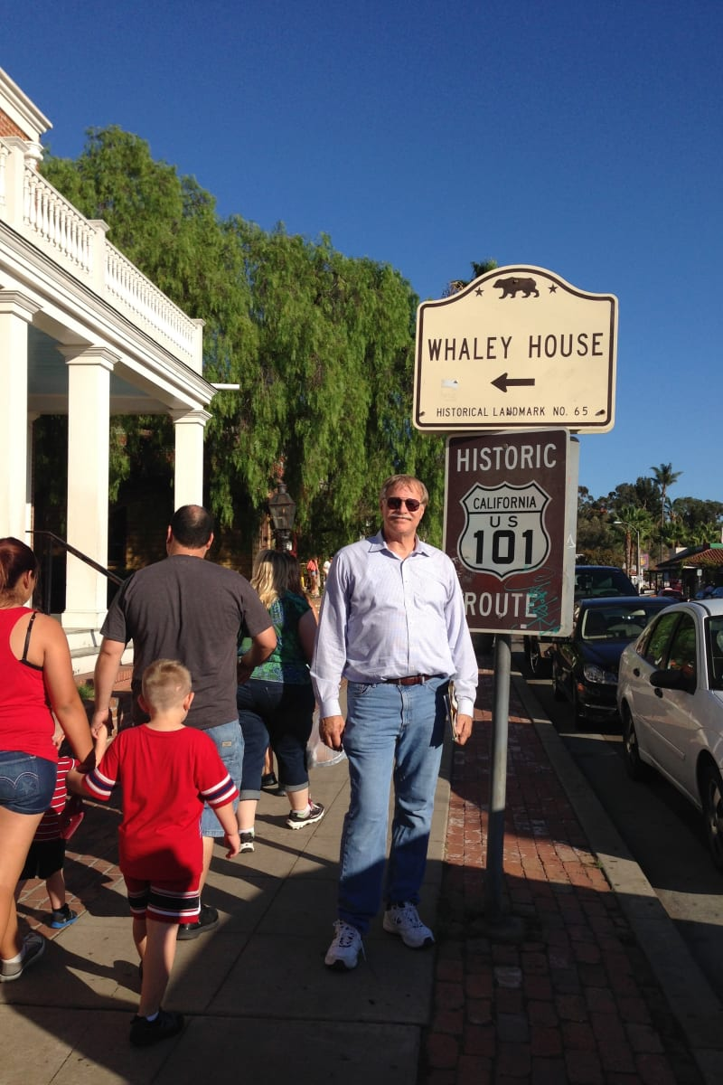 CHL #65 Whaley House Street Sign
