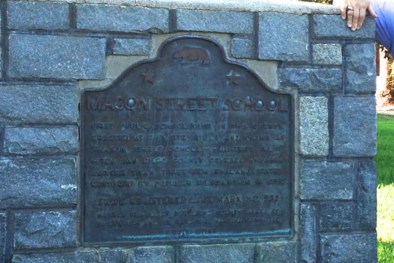 CHL #538  First Publicly Owned School Building State Plaque