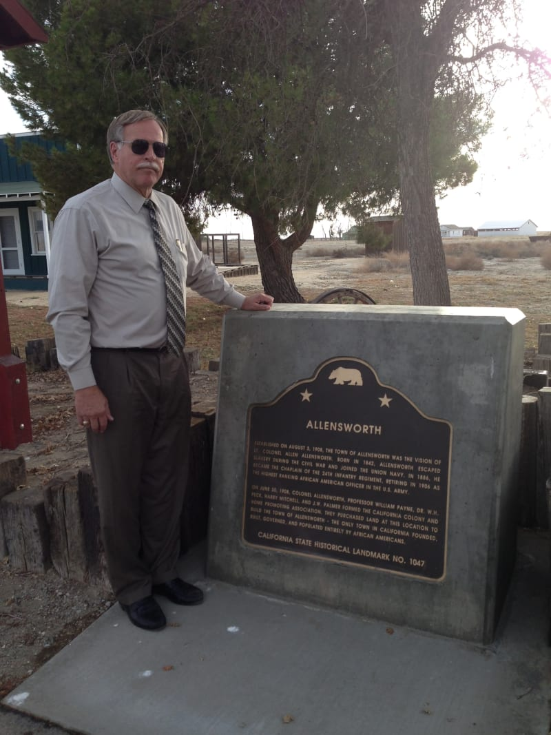 CHL #1047 - Allensworth Marker