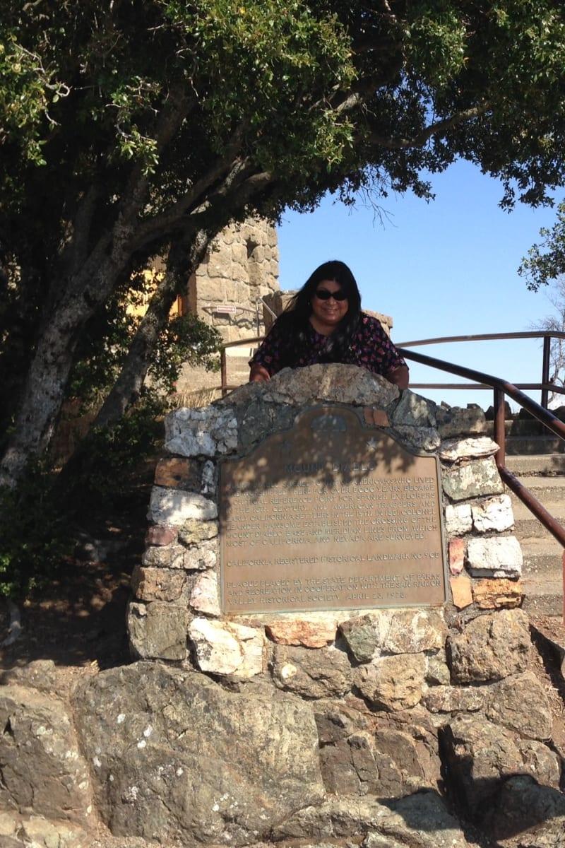 CHL #905  Mount Diablo State Plaque