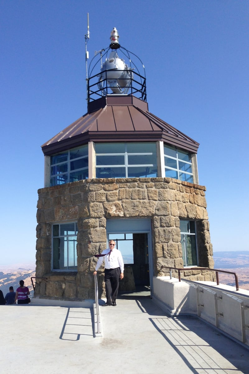 CHL #905  Mount Diablo Lighthouse