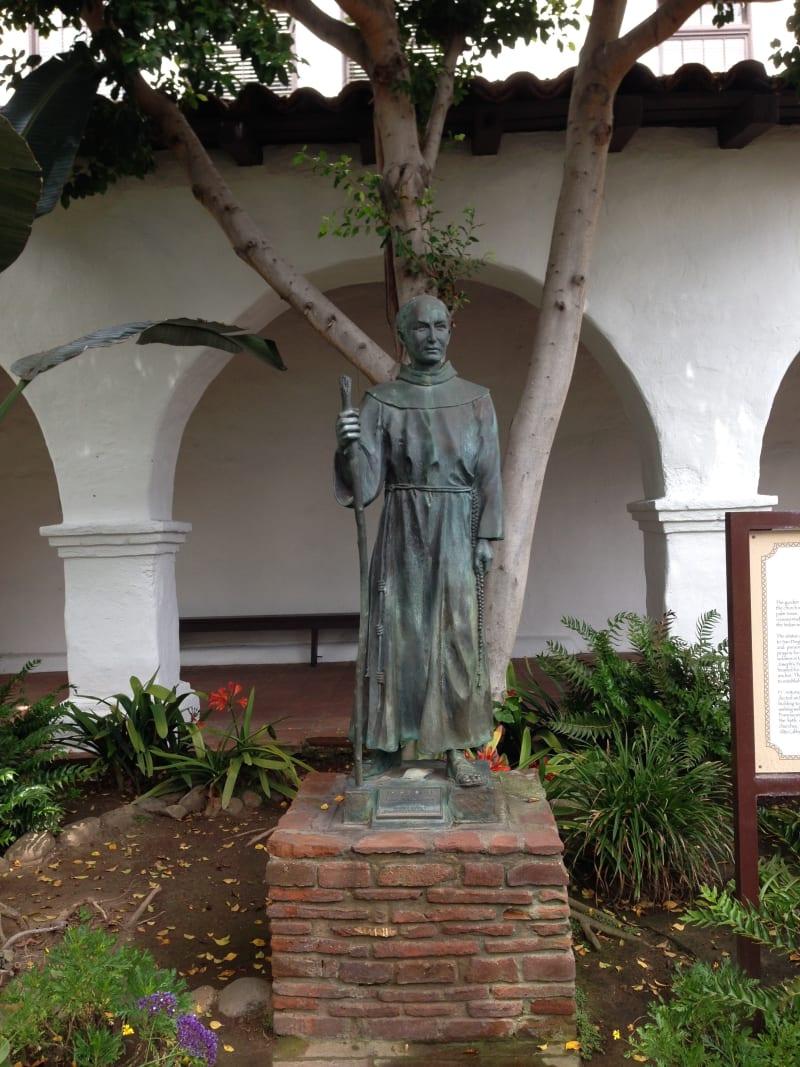 CHL #242 Mission San Diego de Alcala, Bl. Junipero Serra