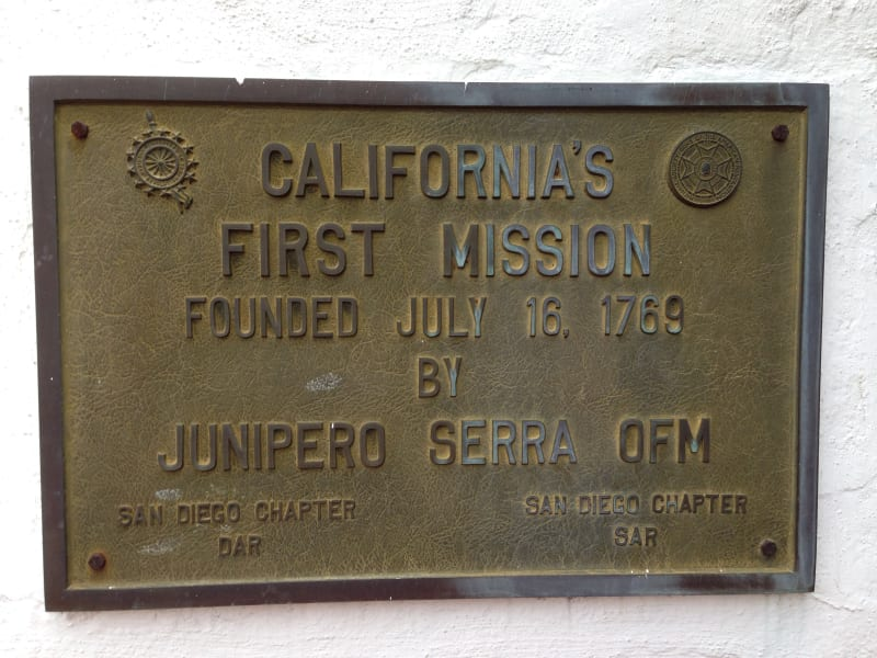 CHL #242 - Mission San Diego de Alcala -- California's first mission