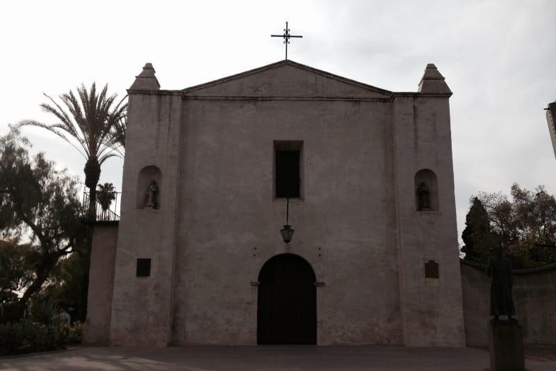 CHL #158 Mission San Gabriel Arcángel - Front