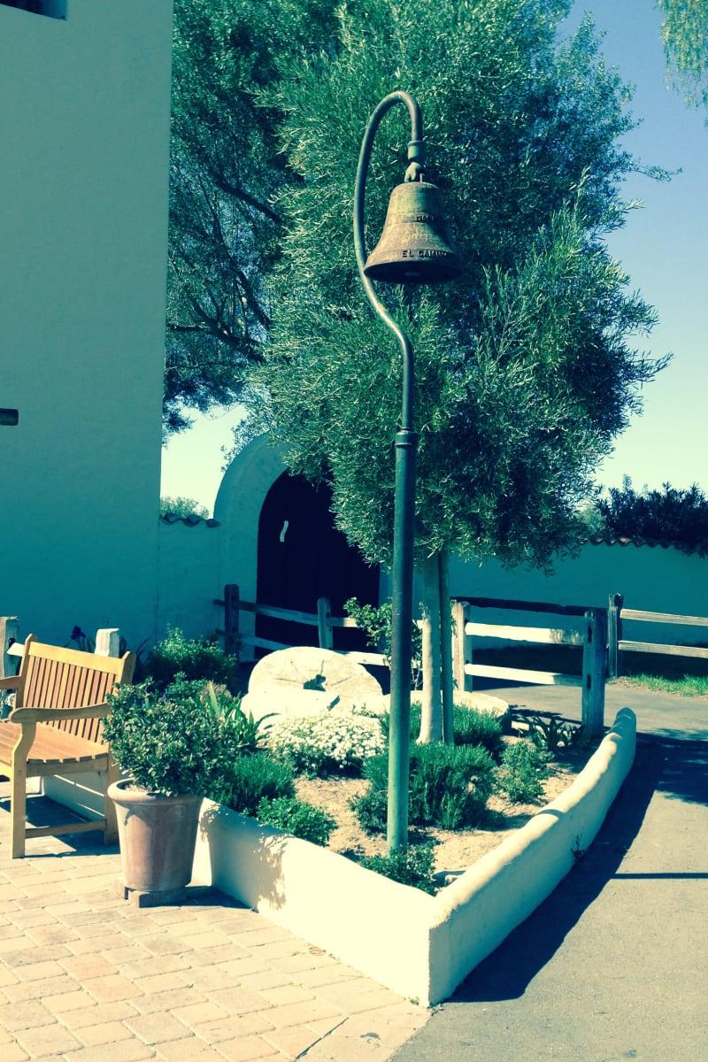 CHL #305 Mission Santa Inés -- El Camino Real Bell
