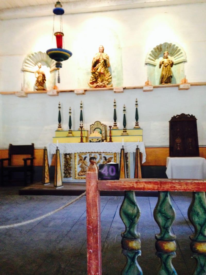 CHL #340 Mission La Purísima-- Chapel