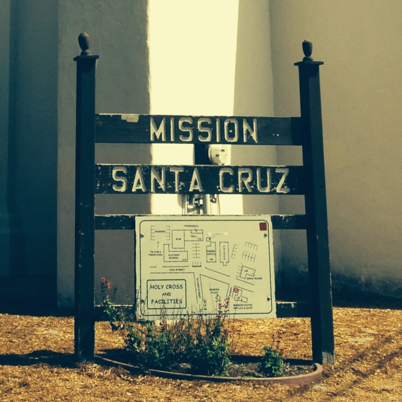 NO. 342 SITE OF MISSION SANTA CRUZ
