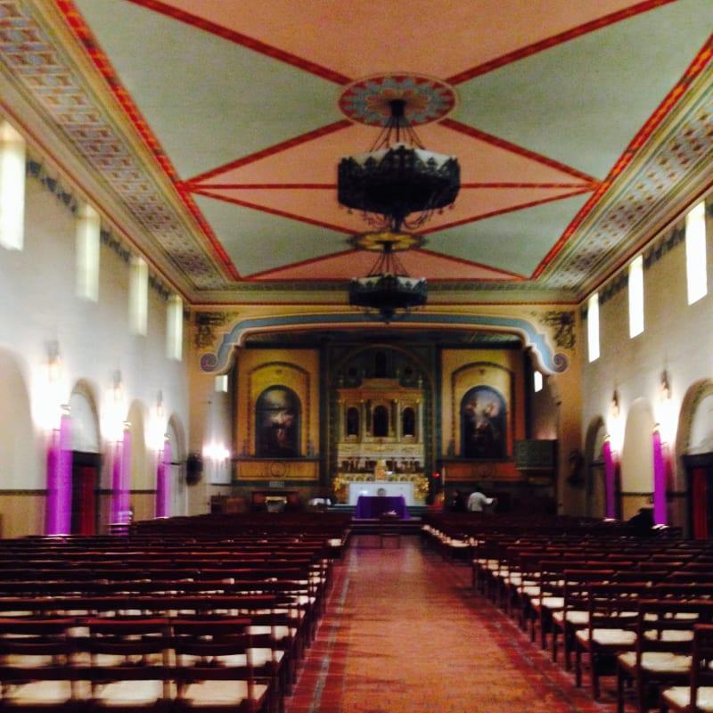 CHL #338 Mission Santa Clara -Interior