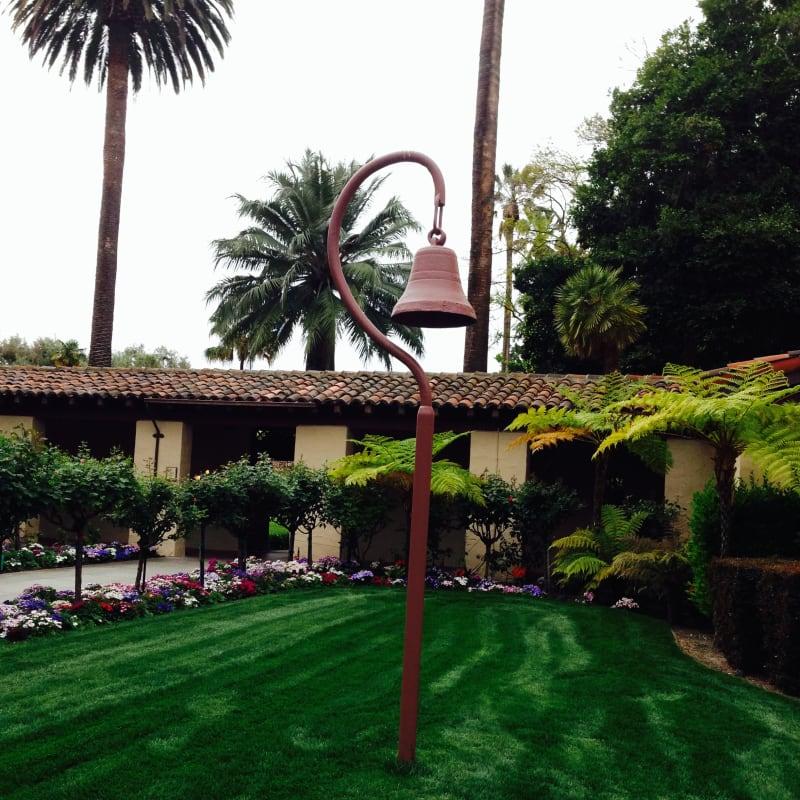 CHL #338 Mission Santa Clara- El Camino Real Bell