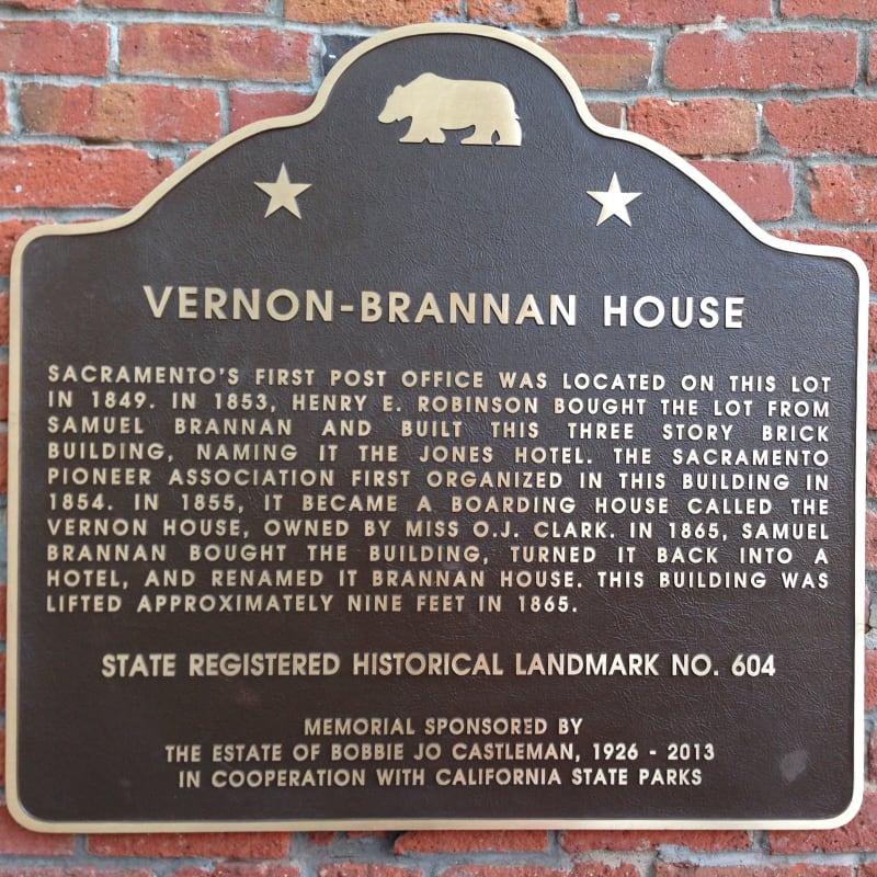 CHL #604 Vernon-Brannan House Site