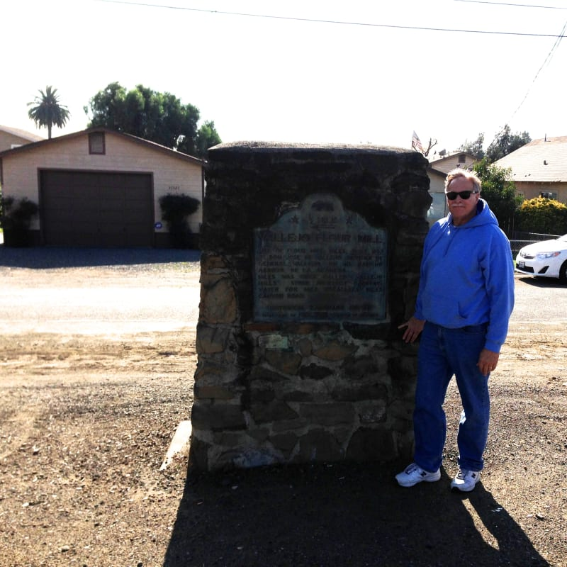 State Plaque is on Mission Blvd. 1/2 mile north of Niles Canyon Road.